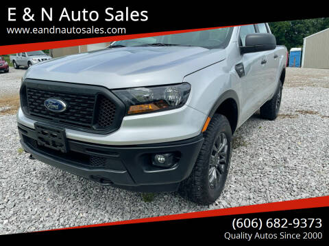 2019 Ford Ranger for sale at E & N Auto Sales in London KY