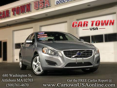 2013 Volvo S60 for sale at Car Town USA in Attleboro MA
