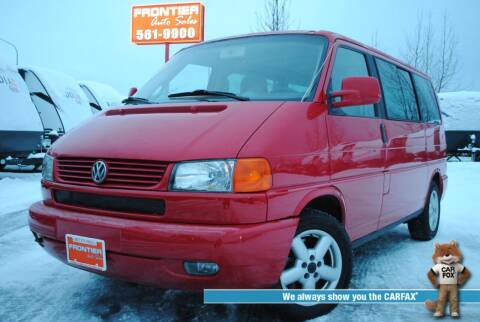 2003 Volkswagen EuroVan for sale at Frontier Auto & RV Sales in Anchorage AK