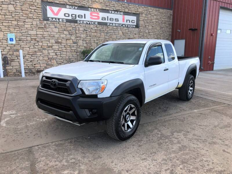 2015 Toyota Tacoma for sale at Vogel Sales Inc in Commerce City CO