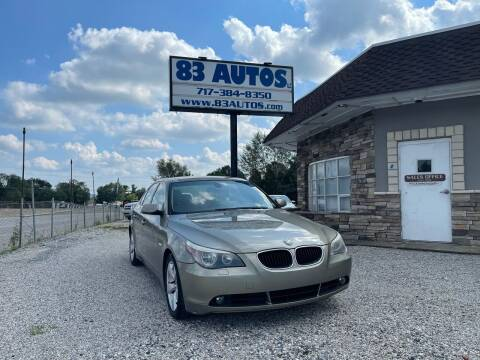 2006 BMW 5 Series for sale at 83 Autos in York PA