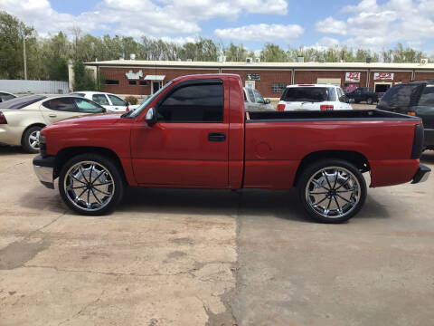 2001 Chevrolet Silverado 1500 for sale at 4 B CAR CORNER in Anadarko OK