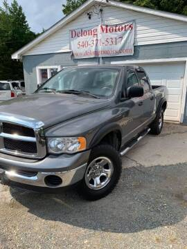 2005 Dodge Ram Pickup 1500 for sale at Delong Motors in Fredericksburg VA