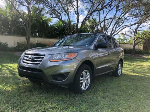 2011 Hyundai Santa Fe for sale at GERMANY TECH in Boca Raton FL