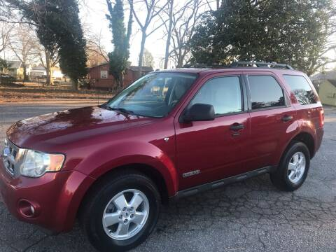 2008 Ford Escape for sale at Cherry Motors in Greenville SC
