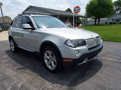 2010 BMW X3 for sale at CALDERONE CAR & TRUCK in Whiteland IN