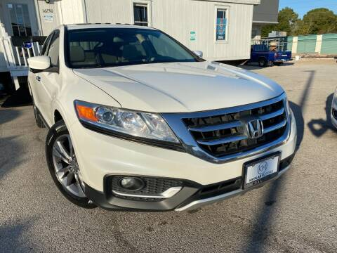 2013 Honda Crosstour for sale at KAYALAR MOTORS in Houston TX