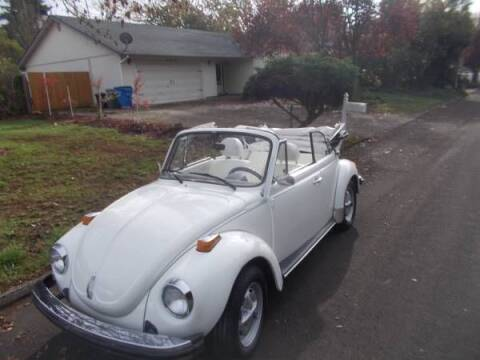 1979 Volkswagen Beetle for sale at Classic Car Deals in Cadillac MI