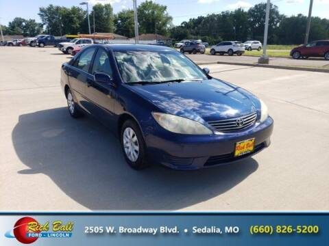 2006 Toyota Camry for sale at RICK BALL FORD in Sedalia MO