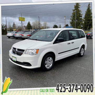 2013 Dodge Grand Caravan for sale at Corn Motors in Everett WA
