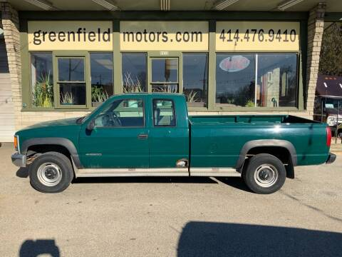 2000 Chevrolet C/K 2500 Series for sale at GREENFIELD MOTORS in Milwaukee WI