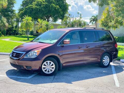 2008 Honda Odyssey for sale at Citywide Auto Group LLC in Pompano Beach FL