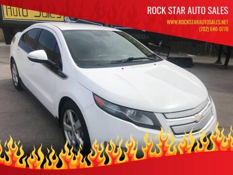 2013 Chevrolet Volt for sale at Rock Star Auto Sales in Las Vegas NV