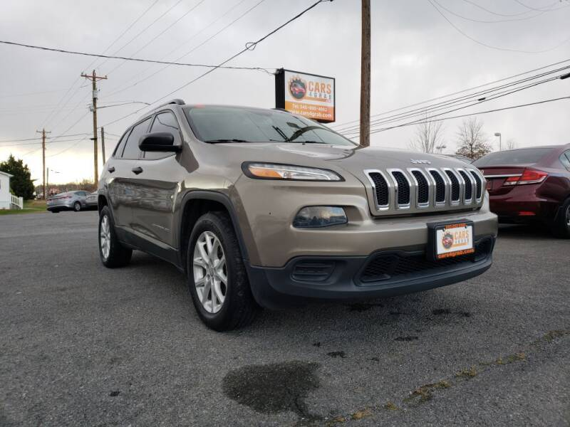 2017 Jeep Cherokee for sale at Cars 4 Grab in Winchester VA