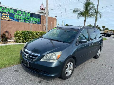 2006 Honda Odyssey for sale at Galaxy Motors Inc in Melbourne FL