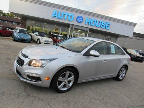 2015 Chevrolet Cruze for sale at Auto House Motors in Downers Grove IL