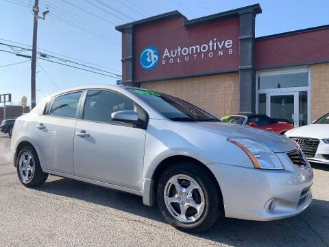 2012 Nissan Sentra for sale at Automotive Solutions in Louisville KY