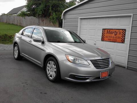2014 Chrysler 200 for sale at Marty's Auto Sales in Lenoir City TN
