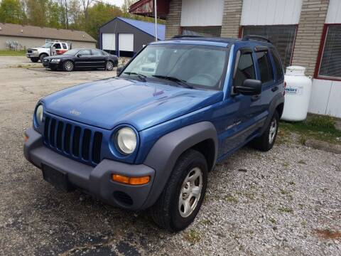 2003 Jeep Liberty for sale at David Shiveley in Mount Orab OH