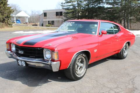 1972 Chevrolet Chevelle Malibu for sale at Great Lakes Classic Cars & Detail Shop in Hilton NY