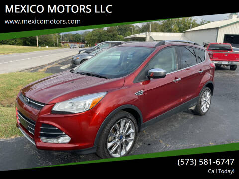 2016 Ford Escape for sale at MEXICO MOTORS LLC in Mexico MO