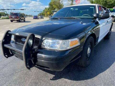 2011 Ford Crown Victoria for sale at Classic Car Deals in Cadillac MI
