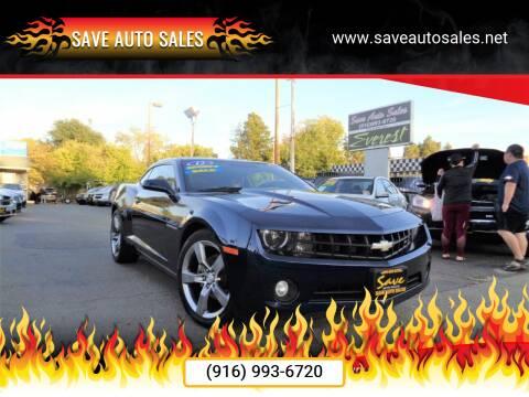 2011 Chevrolet Camaro for sale at Save Auto Sales in Sacramento CA