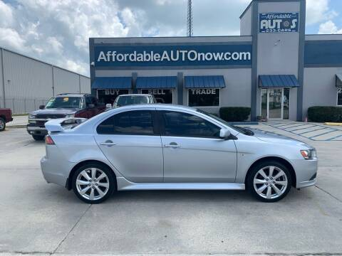 2012 Mitsubishi Lancer for sale at Affordable Autos in Houma LA