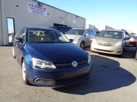 2011 Volkswagen Jetta for sale at ACH AutoHaus in Dallas TX