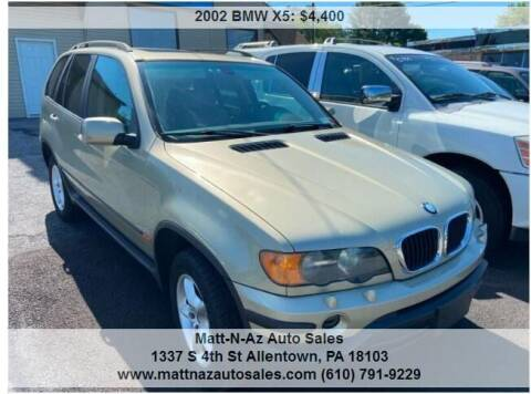 2002 BMW X5 for sale at Berk Motor Co in Whitehall PA