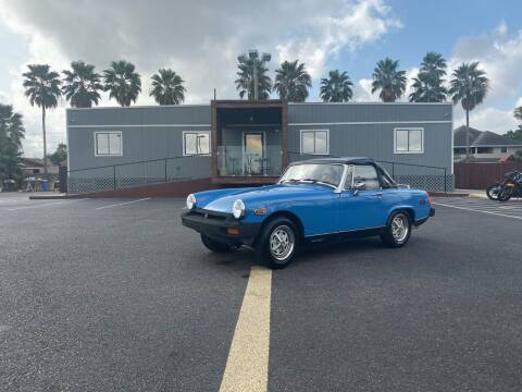 1977 MG Midget for sale at Barrett Auto Gallery in San Juan TX