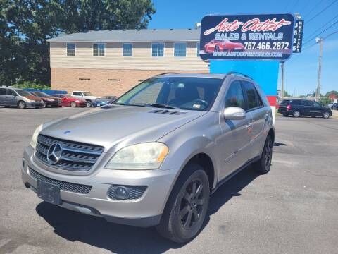 2007 Mercedes-Benz M-Class for sale at Auto Outlet Sales and Rentals in Norfolk VA