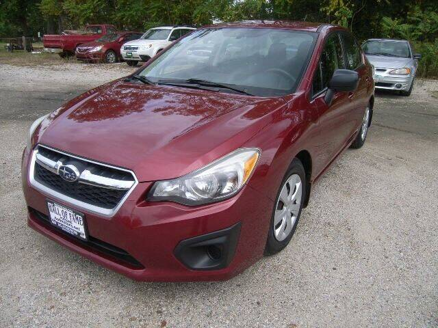 2013 Subaru Impreza for sale at HALL OF FAME MOTORS in Rittman OH