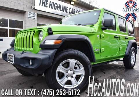 2020 Jeep Wrangler Unlimited for sale at The Highline Car Connection in Waterbury CT