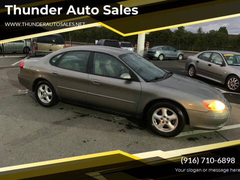 2003 Ford Taurus for sale at Thunder Auto Sales in Sacramento CA
