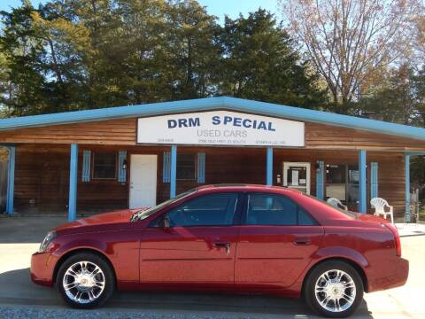 2005 Cadillac CTS for sale at DRM Special Used Cars in Starkville MS