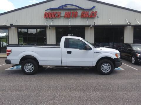 2013 Ford F-150 for sale at DOUG'S AUTO SALES INC in Pleasant View TN