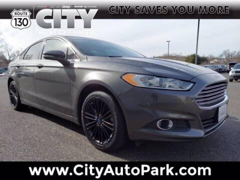 2016 Ford Fusion for sale at City Auto Park in Burlington NJ