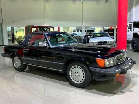 1987 Mercedes-Benz 500-Class for sale at Classic Car Deals in Cadillac MI
