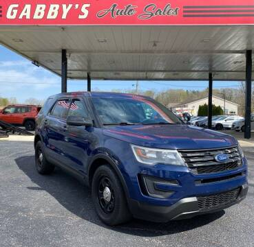 2016 Ford Explorer for sale at GABBY'S AUTO SALES in Valparaiso IN
