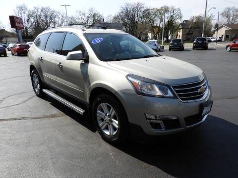 2013 Chevrolet Traverse for sale at Grant Park Auto Sales in Rockford IL