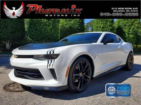 2017 Chevrolet Camaro for sale at Phoenix Motors Inc in Raleigh NC