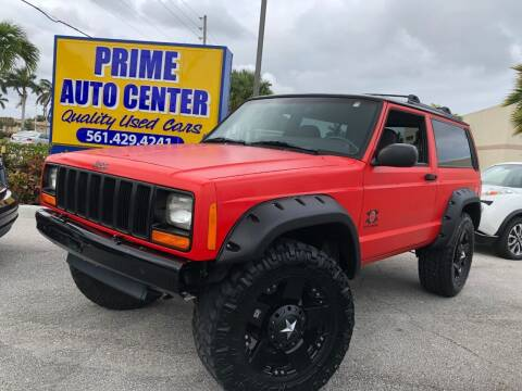 1999 Jeep Cherokee for sale at PRIME AUTO CENTER in Palm Springs FL