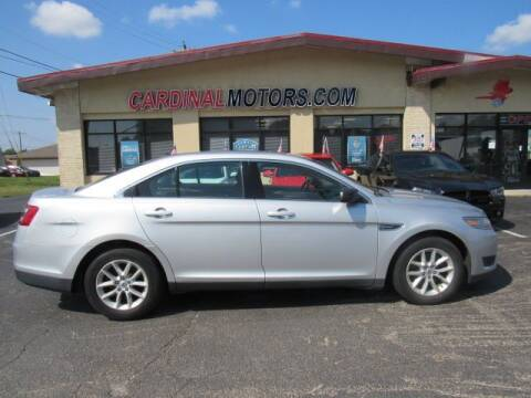 2014 Ford Taurus for sale at Cardinal Motors in Fairfield OH