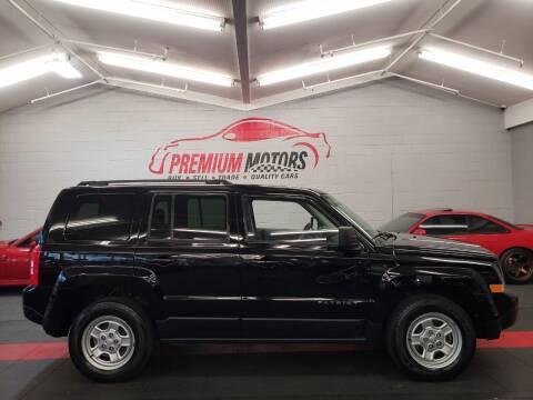 2016 Jeep Patriot for sale at Premium Motors in Villa Park IL