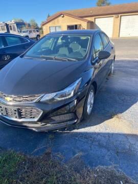 2017 Chevrolet Cruze for sale at DAVE KNAPP USED CARS in Lapeer MI