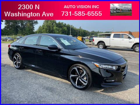 2020 Honda Accord for sale at Auto Vision Inc. in Brownsville TN