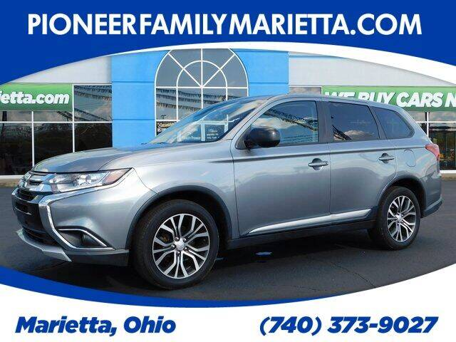 2017 Mitsubishi Outlander for sale at Pioneer Family preowned autos in Williamstown WV