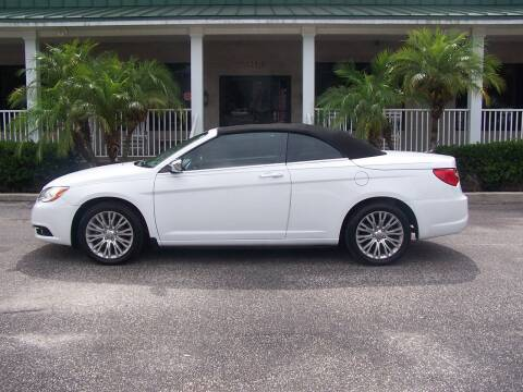2013 Chrysler 200 Convertible for sale at Thomas Auto Mart Inc in Dade City FL