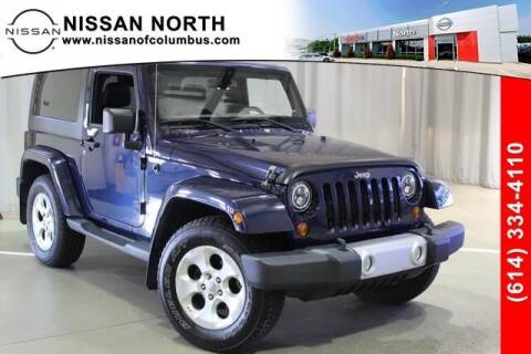 2013 Jeep Wrangler for sale at Auto Center of Columbus in Columbus OH
